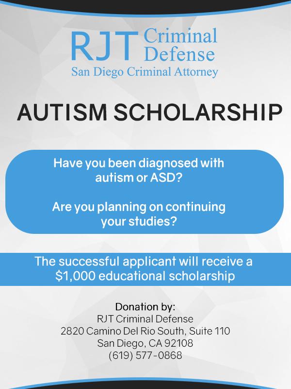 2017 Autism Scholarship