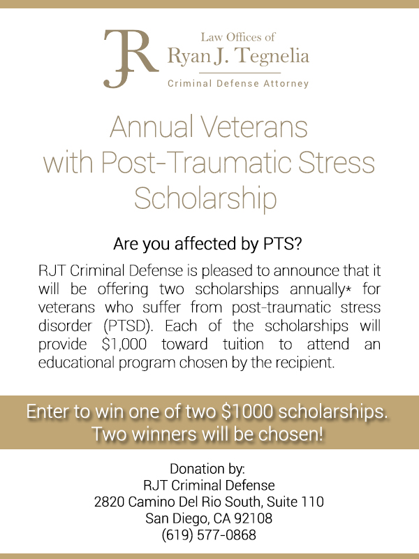 Scholarships for Veterans with Post-Traumatic Stress Disorder
